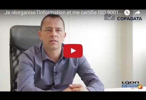 Comment je réorganise l'information et me certifie ISO 9001 avec le même consultant [témoignage]