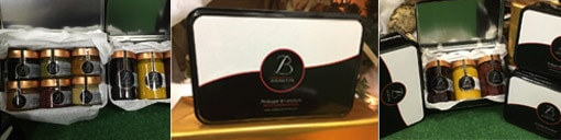Coffret gourmand - assortiment au choix de confitures Bruneton