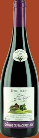 Côte de Brouilly Vin du beaujolais Brouilly Vieilles Vignes