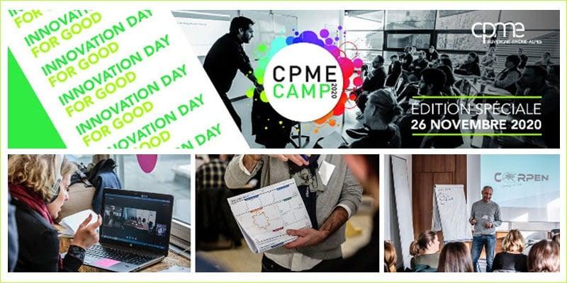 Jeudi 26 Novembre : CPME CAMP 2020 – Édition spéciale 100% digitale & régionale