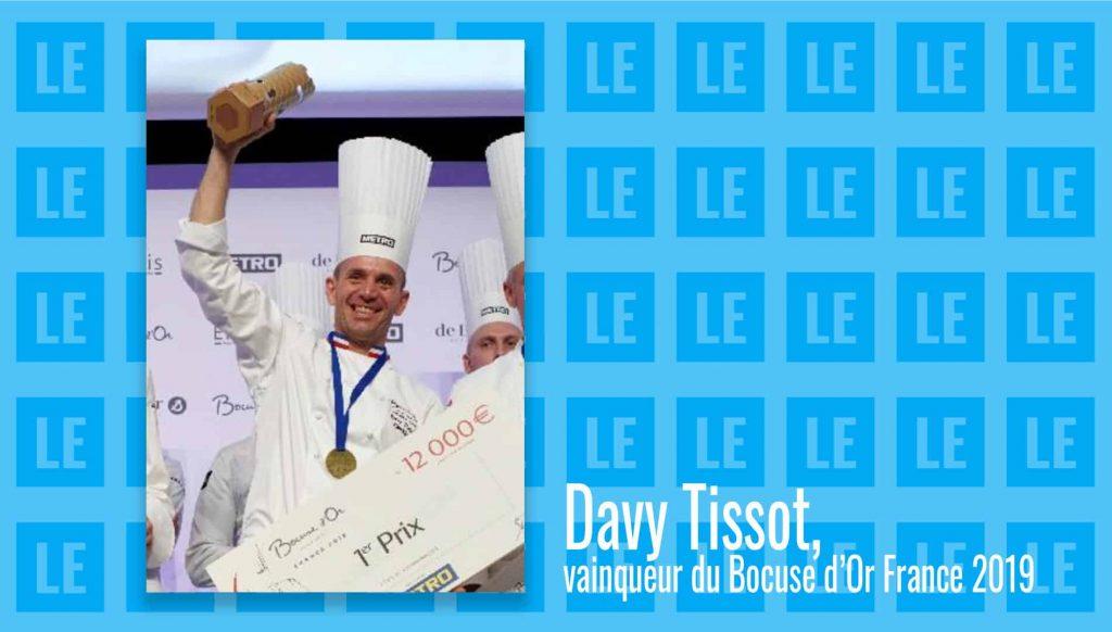 Davy Tissot représentera la France au Bocuse d'Or Europe 2020
