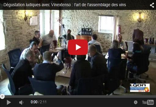 Dégustation ludique avec Vinextenso : apprendre l'assemblage