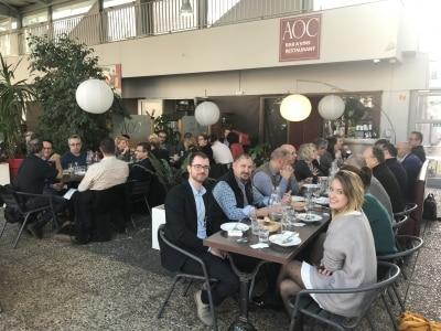 Déjeuner interclub au restaurant AOC Les Halles