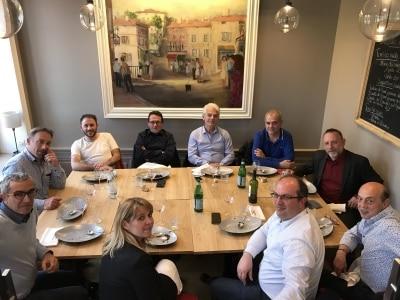 Retour sur le 99ème déjeuner network à la Brasserie des Monts d'Or