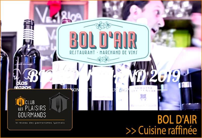 Déjeuner Network #103 au restaurant Le Bol d'Air [mardi 19 novembre 2019]