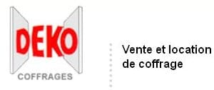 DEKO premier fabricant français de coffrage modulaire, recherche un technico commercial pour la région Nord