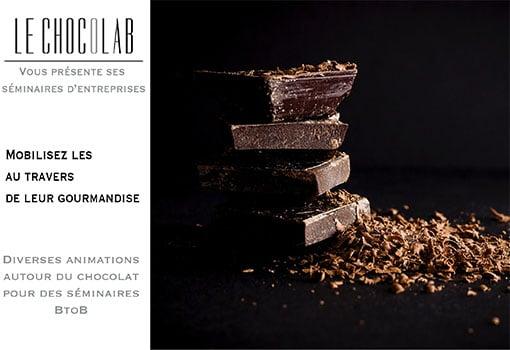 Des animations autour du chocolat pour animer vos séminaires et ravir vos collaborateurs