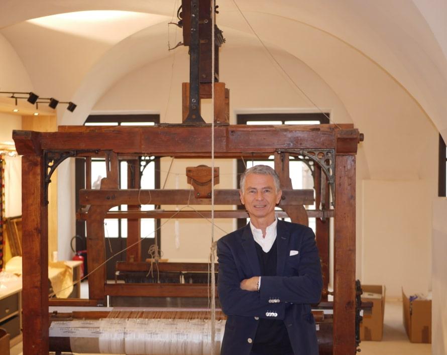 Des soieries sont fabriquées sur place, Cédric Brochier ouvre une boutique au Grand Hôtel-Dieu