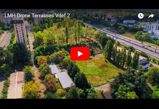 Deux hôtels, mille logements, 42 000 m2 de bureaux: un nouveau quartier de 16 ha sort de terre à Bron sur une ancienne caserne
