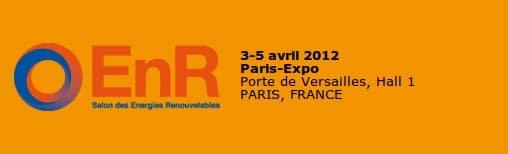 Diffuselec répond présent au Salon des Energies Renouvelables les 3 et 5 avril 2012