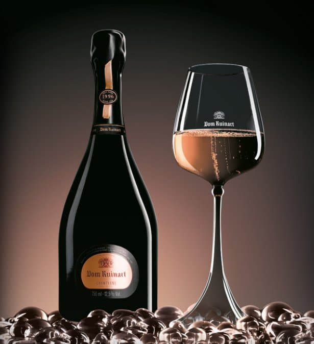 Dom Ruinart Rosé Millésimé, un champagne sublime pour vos cadeaux d'affaire