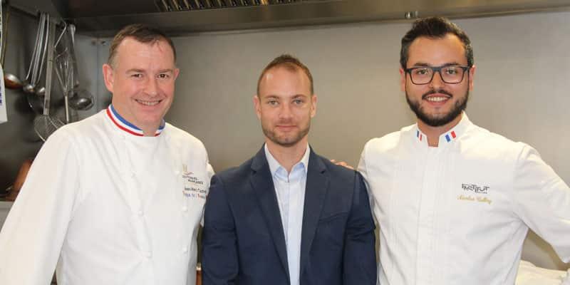 Jean Marc Tachet et Nicolas Calbry : le tandem gastronomique du Domaine Dolomieu, en pleine renaissance…