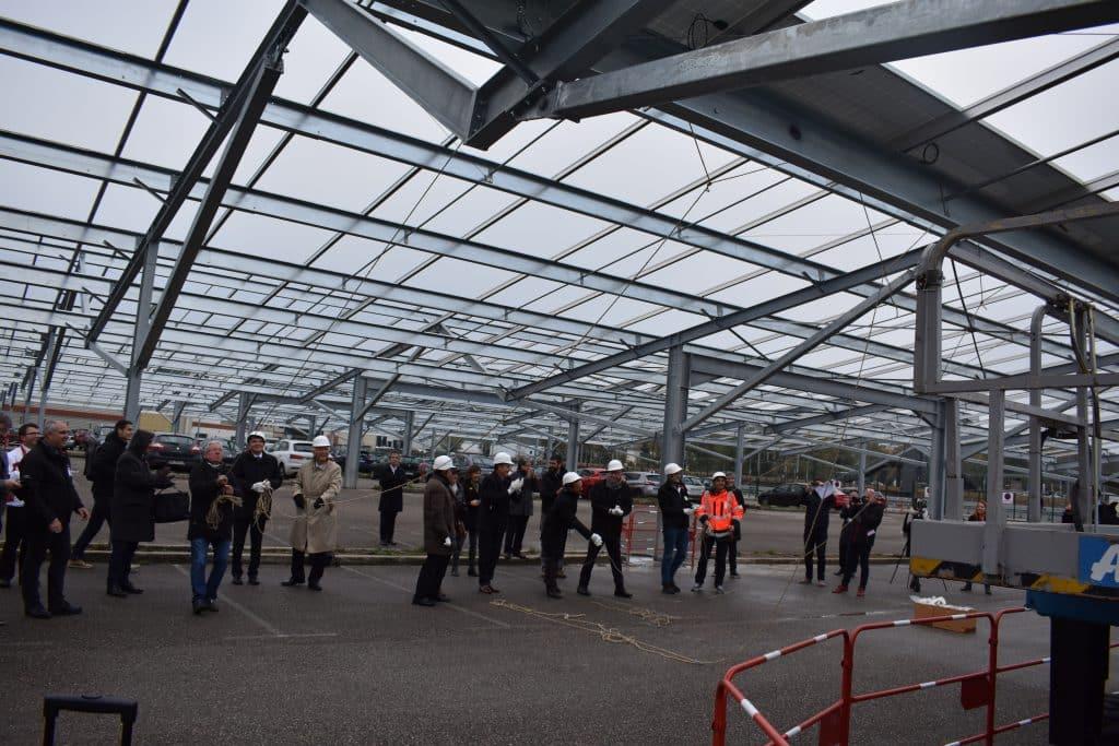 lyon usine solaire photovoltaïque