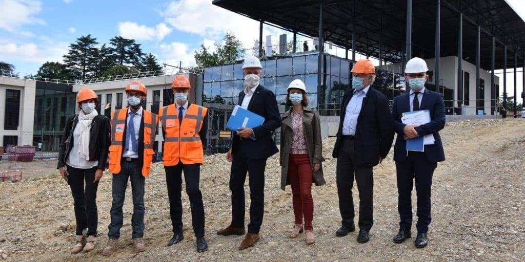 A Lyon-Charbonnières : le Campus Région du Numérique sera bien livré début 2021