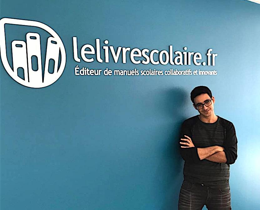 Edtech Lyon porte à sa tête Jonathan Banon du livrescolaire.fr