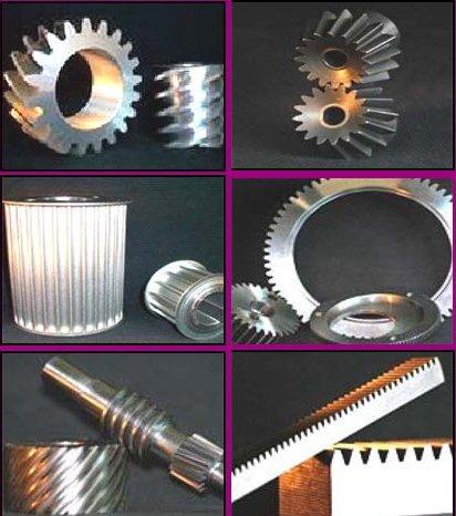 Engrenage, taillage industriel de tous types d'engrenages