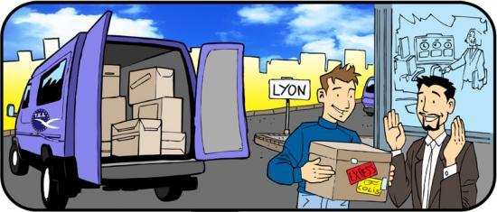 Envoi de colis urgents Livraison express