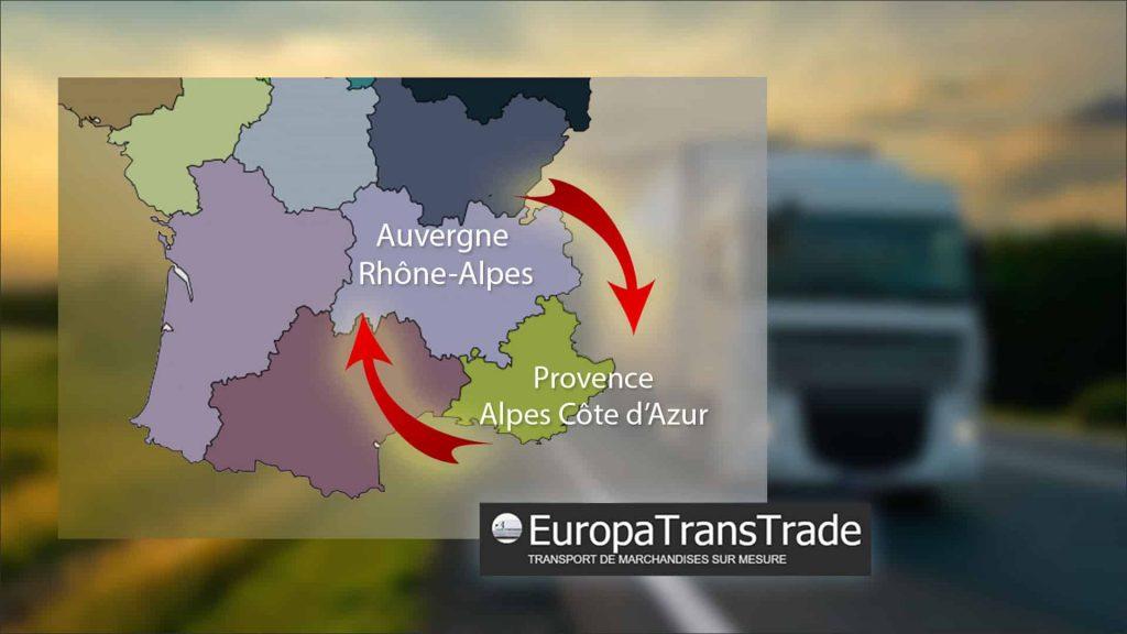 Vos transports régionaux sur le Quart Sud-Est avec Europa Trans Trade