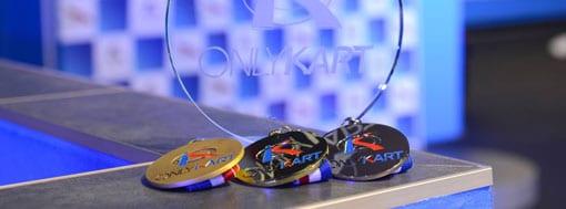 Remise de prix à l'entreprise gagnante au Trophée OnlyKart