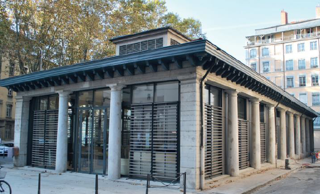 Fermées depuis plusieurs années, les Halles de la Martinière veulent retrouver leur lustre…