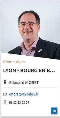 Edouard Moret - Agence Dynabuy de l'Ain
