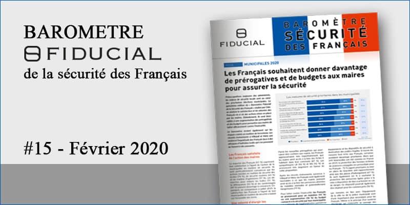 Municipales 2020 & Terrorisme : la peur de l'acte isolé [Baromètre FIDUCIAL #15]
