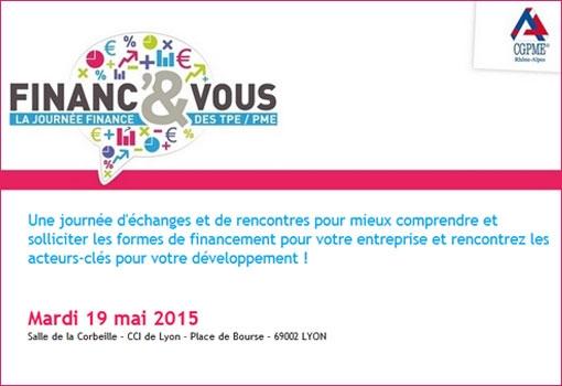 Finanç'& Vous, la journée finance des TPE / PME
