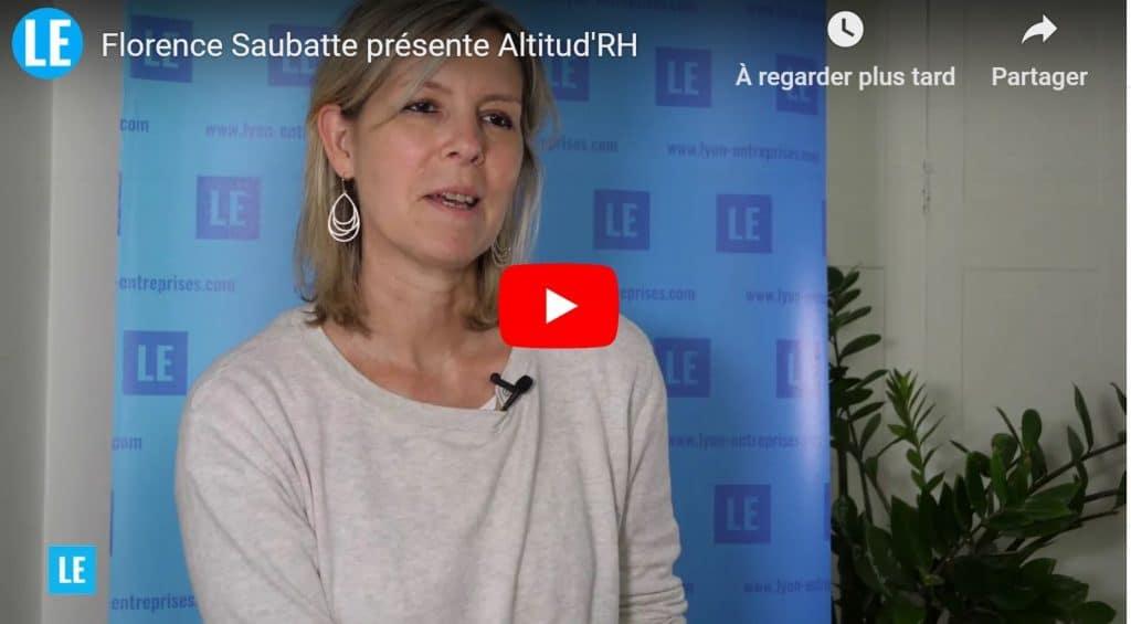 Florence Saubatte présente Altitud'RH
