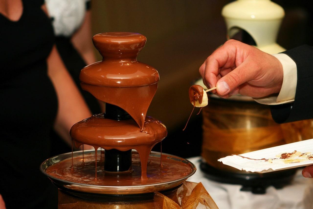 Fontaine au chocolat séminaires entreprises