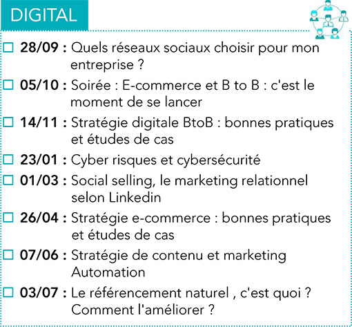 Formations Digital CPME 2017 -2018