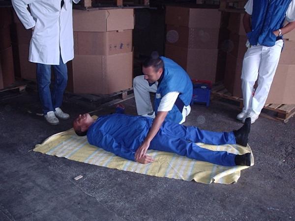Formation équipier d'évacuation