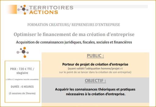 Formation : optimiser le financement de mon entreprise