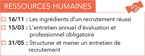 Formations CPME : Ressources Humaines 2017 -2018