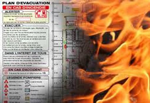 Formations sécurité incendie: l'évacuation
