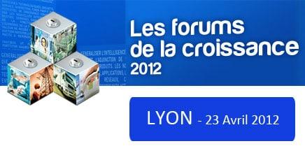 Forum de la Croissance organisé par l'ADEN France, le 23 avril 2012