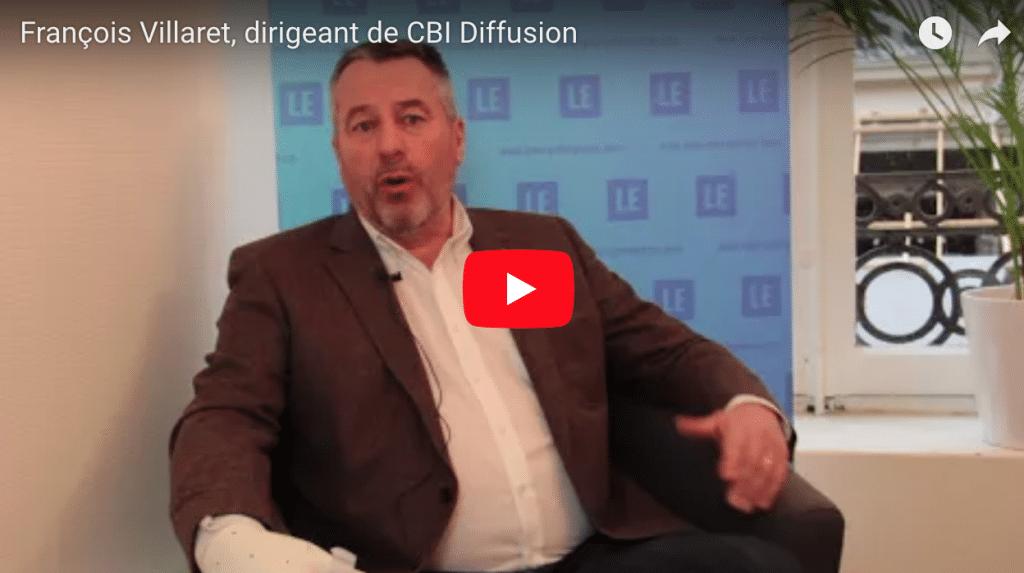 François Villaret, dirigeant de CBI Diffusion