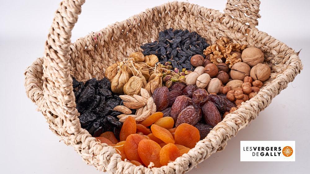 Service de livraison de fruits secs au bureau pour les plus gourmands