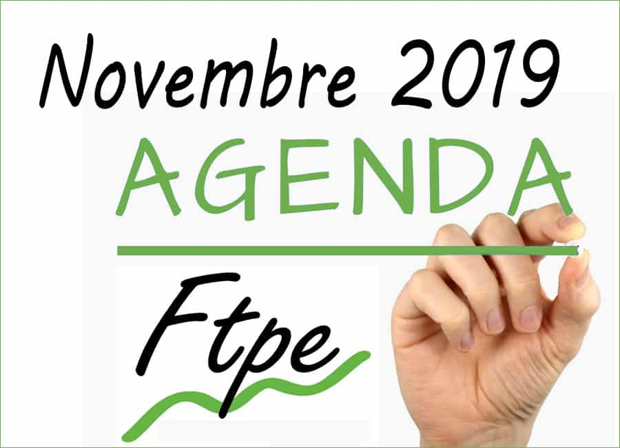 Agenda FTPE Auvergne Rhône-Alpes Nov. 2019 : les RDV de la Très Petite Entreprise
