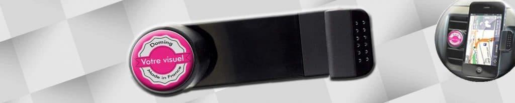 Gagnez en visibilité avec un goodies personnalisé support téléphone voiture