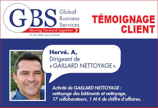 Hervé évoque son expérience avec GBS France : refonte de l'identité visuelle [Témoignage]