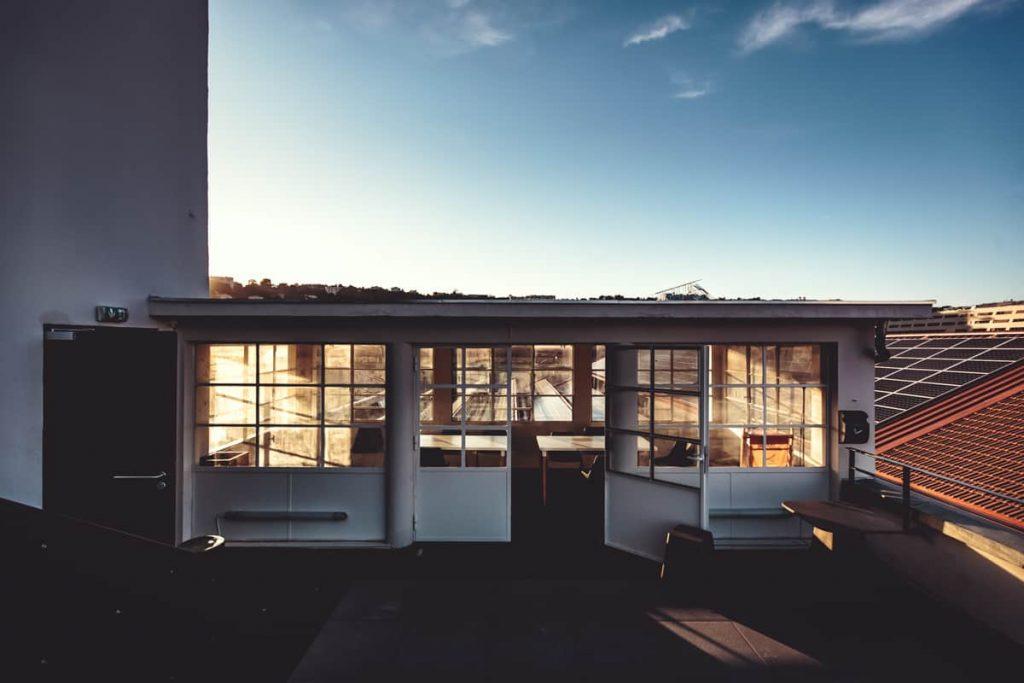 L'Hôtel 71 inauguré et sa terrasse