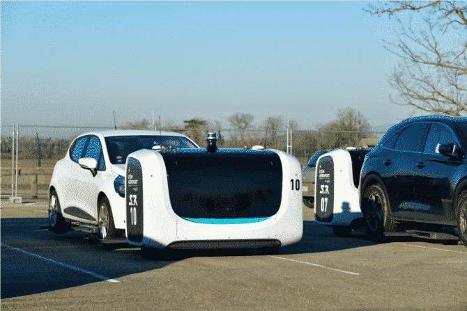 Le robot-voiturier de Saint-Exupéry va  à être étendu à un parking de 2 000 places