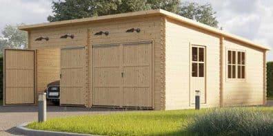 Le garage bois, un abri naturel, durable et personnalisable