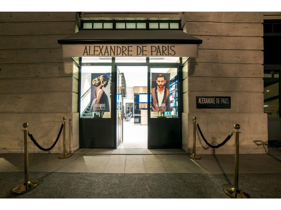 Alexandre de Paris ouvre à Lyon, son premier salon de coiffure