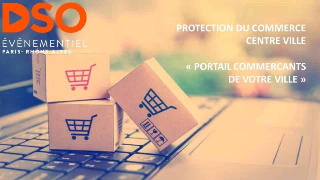 Portail commerçants numériques