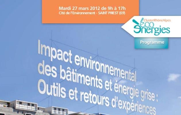 Impact environnemental des bâtiments et énergie grise : conférence à St Priest