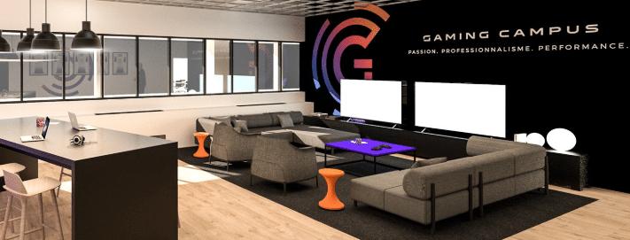 """Inauguration du """"Gaming Campus"""" : 1er campus étudiant en Europe dédié … au jeu vidéo !"""