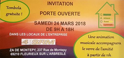 Invitation Portes Ouvertes Bâti & Bois le Samedi 24 Mars 2018