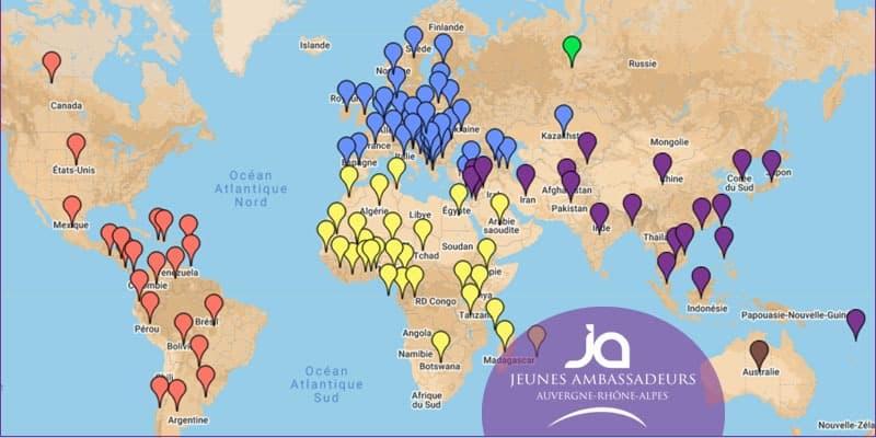 Les JA4Ever ou comment avoir son contact au travers le monde