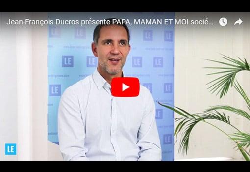 """Jean-François Ducros présente """"Papa, Maman Et Moi"""" société spécialisée en puériculture"""